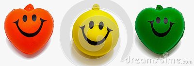 Smiled Happily Royalty Free Stock Photo - Image: 25609785