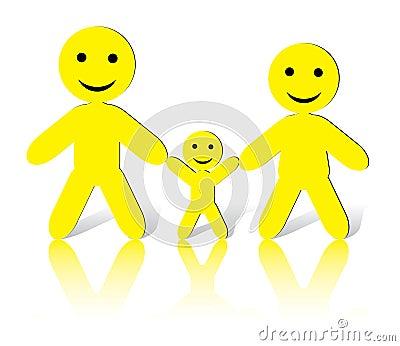 SmileMan: We are happy Family!