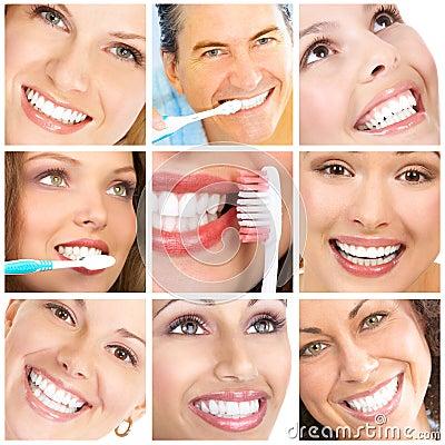 Free Smiles Ans Teeth Royalty Free Stock Image - 14641376