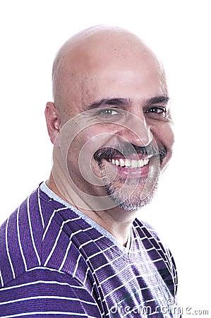 Smiley bald