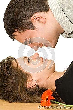 Smiley couple
