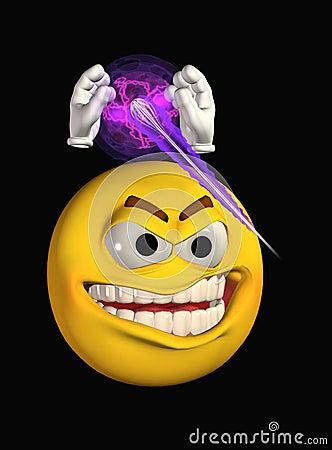 Smiley face attacking