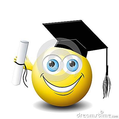 Smiley face Graduate