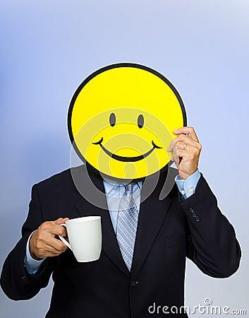 Smiley Face Man