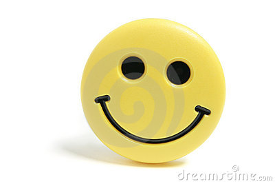Smiley Fridge Magnet