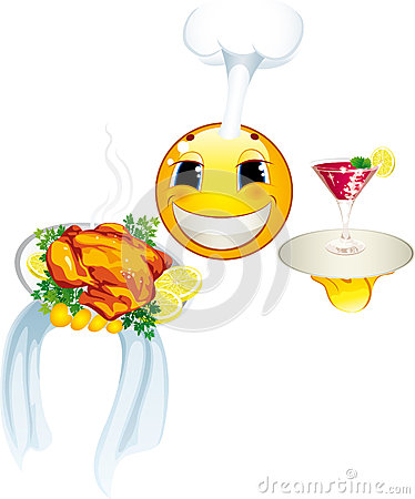 Smiley icon. Cook