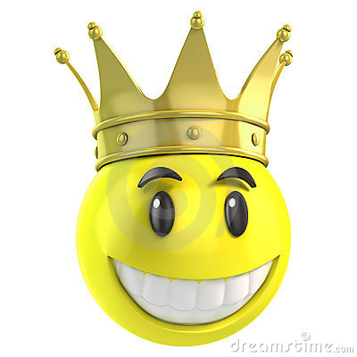 smiley king royalty free stock photography image 23118707