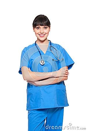 Smiley nurse