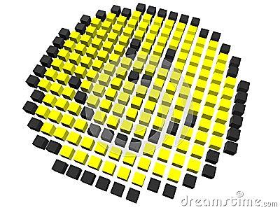 Smiley - pixelated