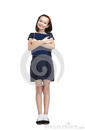 Smiley-Schulmädchen