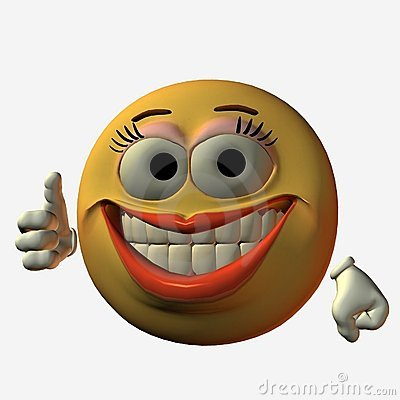 Free Smiley-Thumb Up Royalty Free Stock Photo - 749775