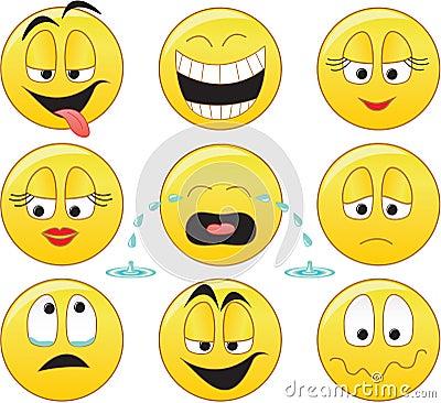 Free Smileys Royalty Free Stock Photo - 2124815
