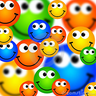 Free Smileys Background Stock Images - 18772354