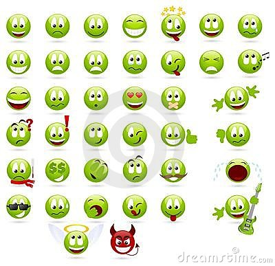 Free Smilies Royalty Free Stock Photo - 13752115