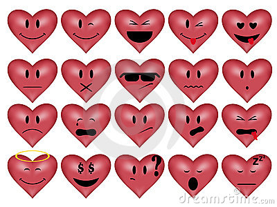 Smilies-heart Royalty Free Stock Photo - Image: 11931685
