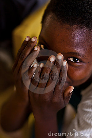 Smiling african child Editorial Photo