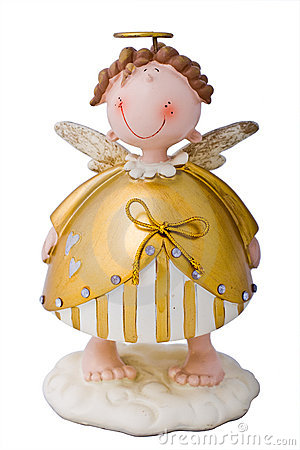 Free Smiling Angel Stock Photography - 4371562