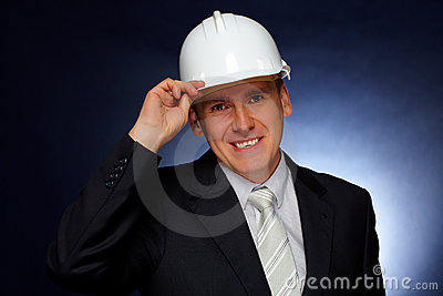 Smiling Architect Royalty Free Stock Photos - Image: 12699878