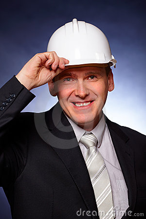Smiling Architect Royalty Free Stock Images - Image: 12844319