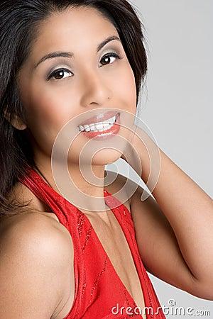 Free Smiling Asian Woman Stock Photo - 9185200