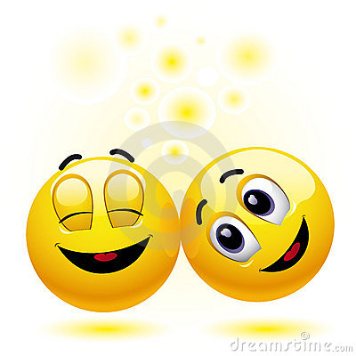 Smiling balls