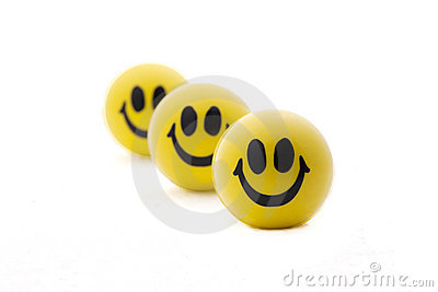 Smiling balls in perfect order