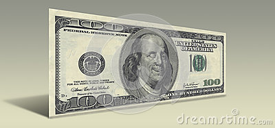 Smiling Ben Franklin