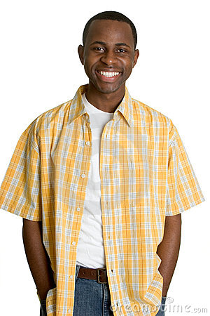 Free Smiling Black Man Stock Photography - 4774672