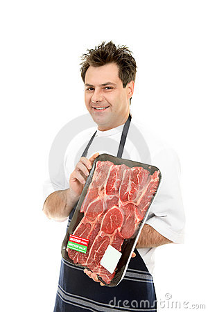 Free Smiling Butcher Royalty Free Stock Photo - 3252875