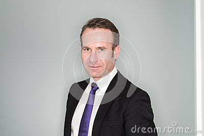 Smiling Confident Business Executive Royalty Free Stock ...