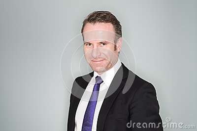 Smiling Confident Business Executive Stock Image - Image ...