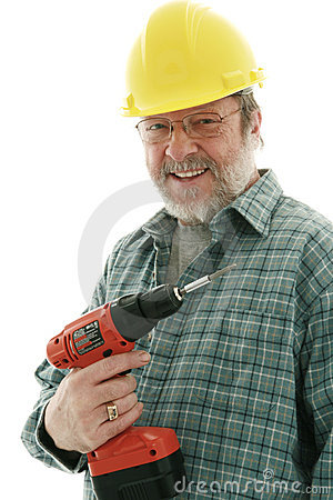 Smiling  construction  man