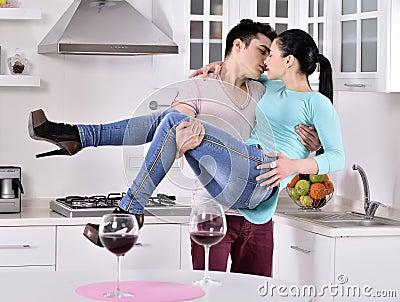 White Girl Go To Kitchen Vine