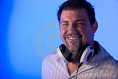 Smiling DJ