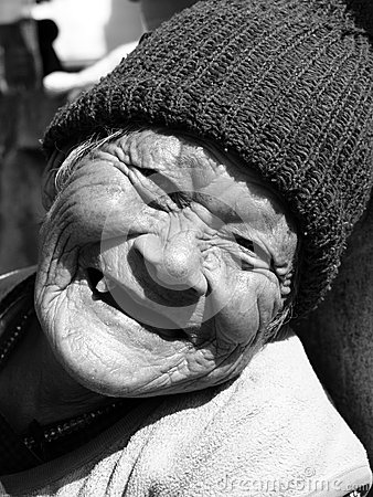 Free Smiling Elderly Woman Stock Photography - 27643322