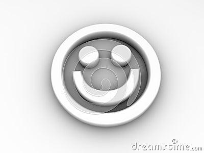 Smiling Emotion Icon