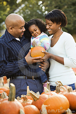 Free Smiling Family Together. Stock Photography - 3614882