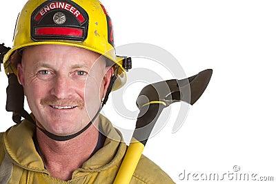 Smiling Fireman