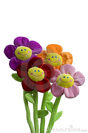 Free Smiling Flower Toy Stock Photos - 6129493