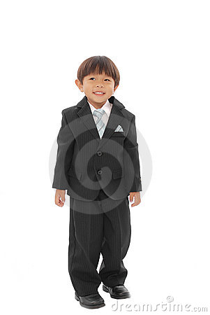 Smiling Formal Toddler