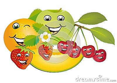 Smiling fruit