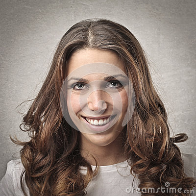 Smiling Girl Stock Image - Image: 28622831