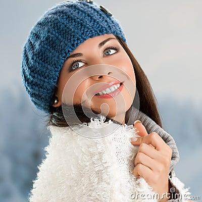 Smiling girl outdoor