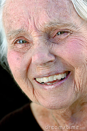 Free Smiling Great Grandmother Royalty Free Stock Image - 372916