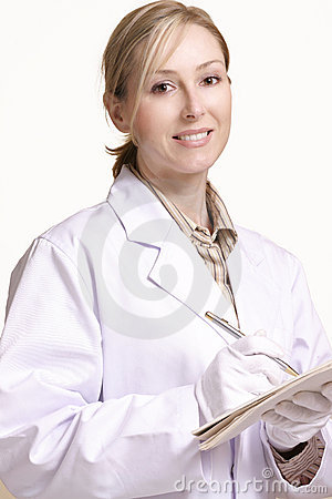 Free Smiling Healthcare Worker Stock Image - 38271