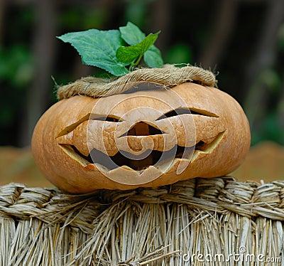 Smiling Helloween Pumpkin