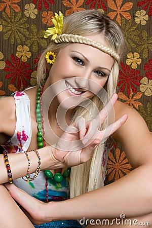 Smiling Hippie