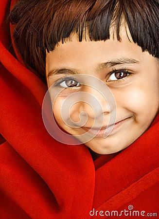 Smiling Indian Girl