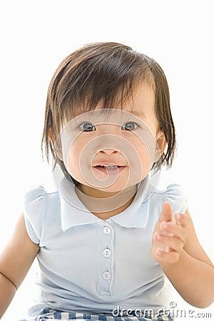 Smiling Japanese Infant