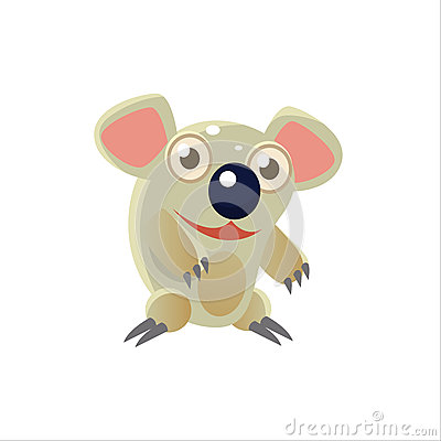 Free Smiling Koala Bear Stock Photo - 69571870